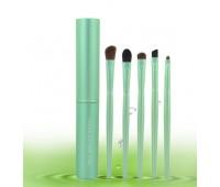 Набор кистей зелёного цвета 5 шт.