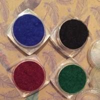 Набор Бархат/флок, 4 цвета